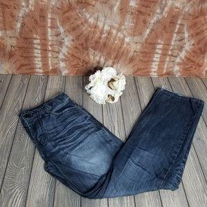Arizona Mens 31x32 Slim Straight Dark Wash Jeans